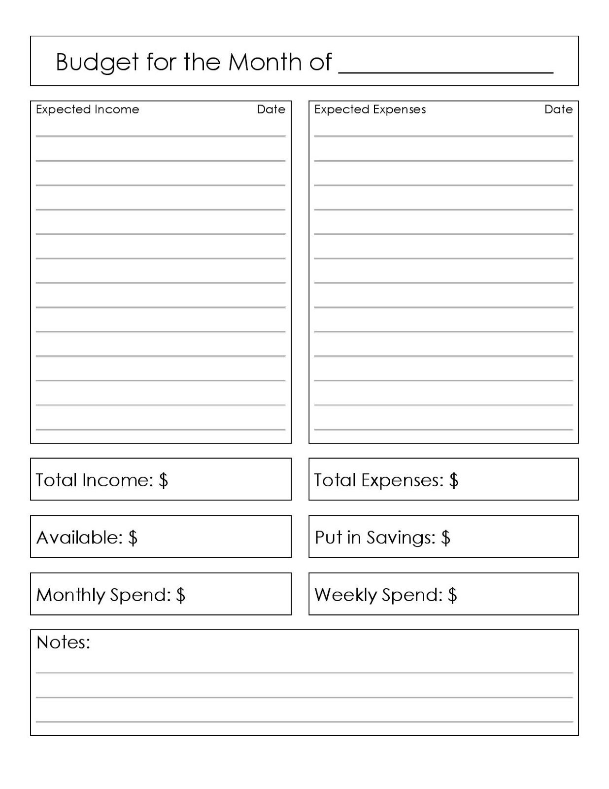 Found On Bing From Broketastic Blogspot Com In 2020 Simple Budget Worksheet Budgeting Worksheets Simple Budget
