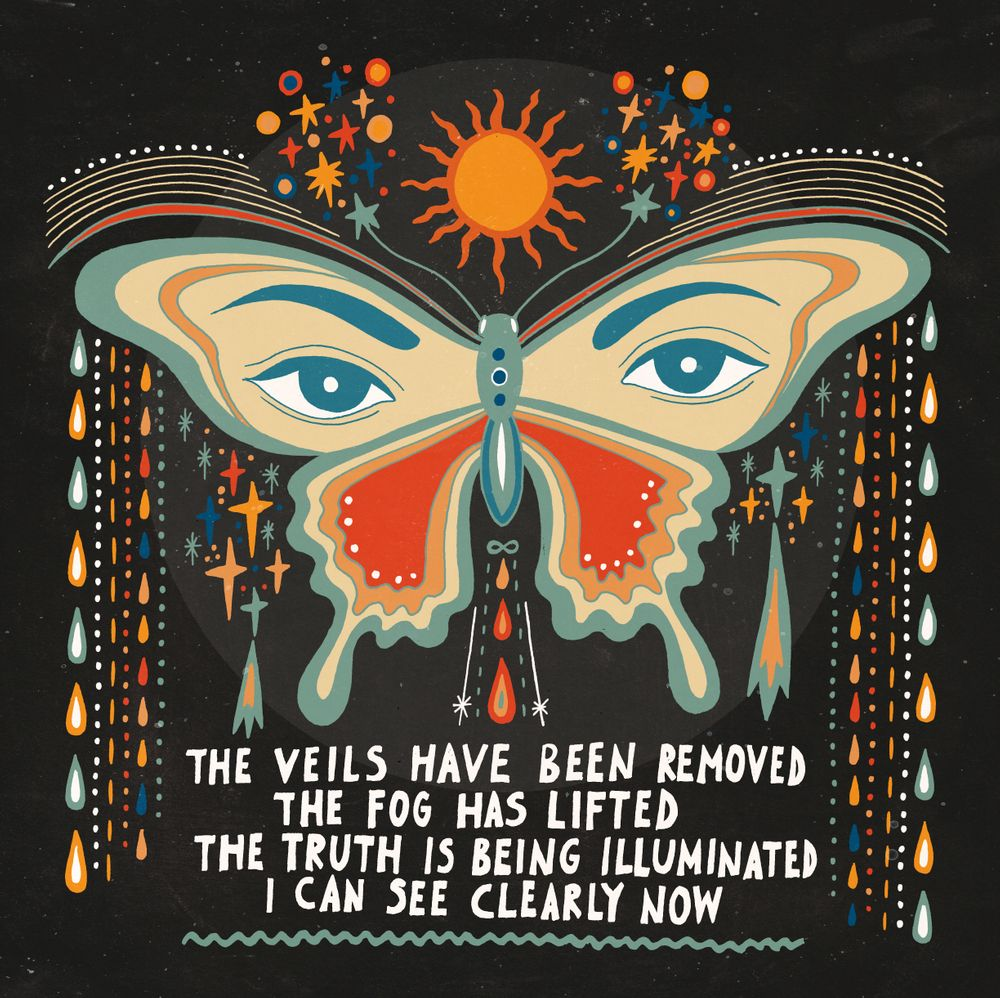 The veils have been removed Art Print by Asja Boros