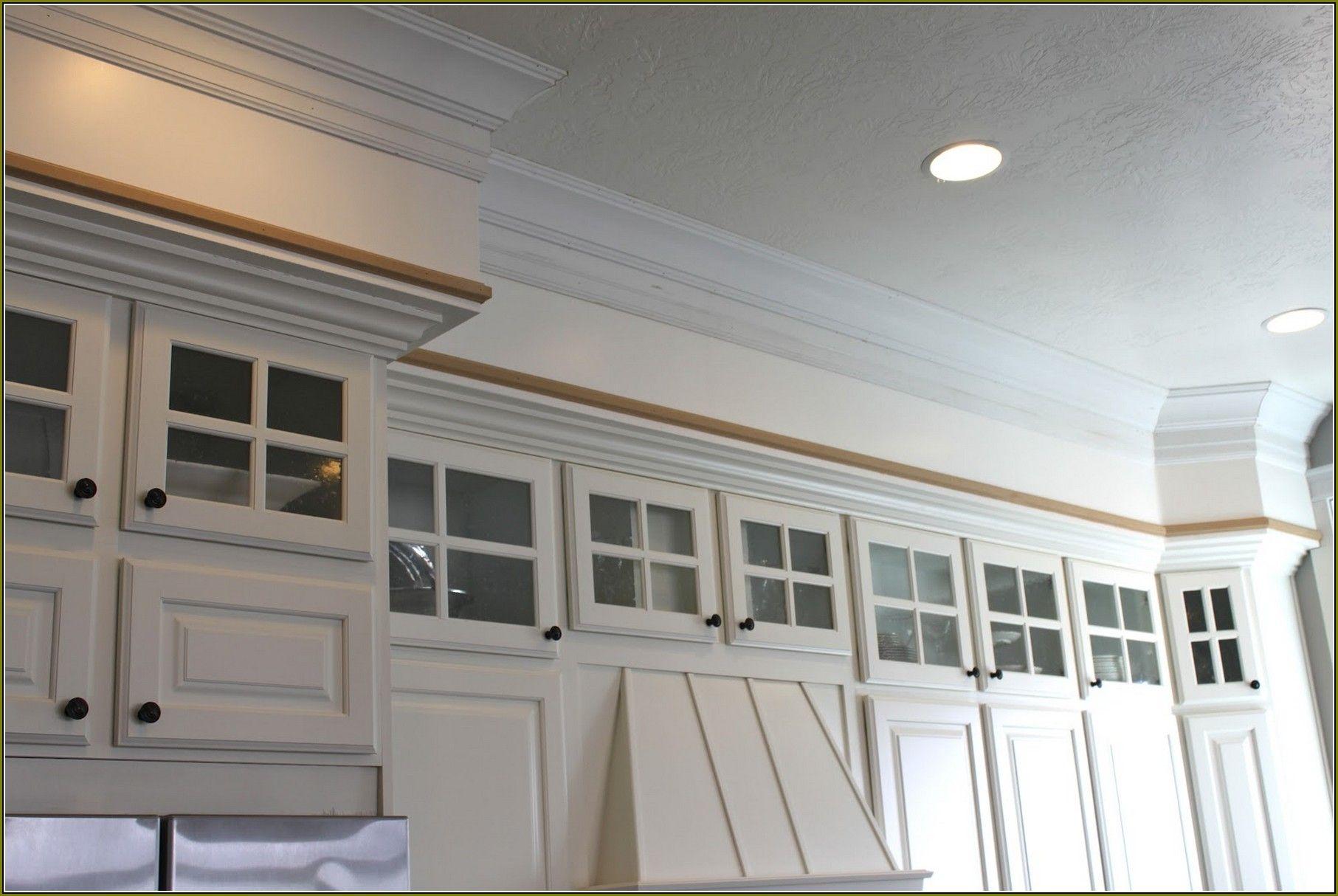 Kitchen soffit, Kitchen cabinet molding, Crown molding kitchen