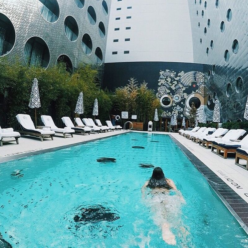 15 New York City Pools To Lounge By This Summer And Year Round Dream Hotels Pool Places To Go