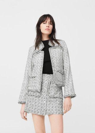 la venta de zapatos estilo distintivo online aquí Chaqueta tweed - Mujer | moda | Tweed jacket, Jackets, Fashion