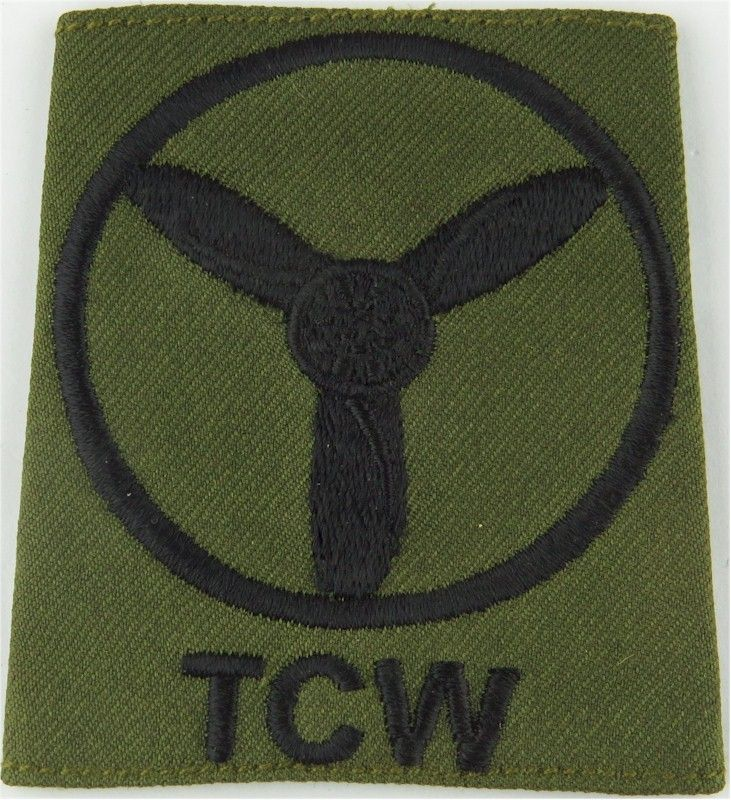 TCW Senior Aircraftman Technician (Prop In Circle) SlipOn