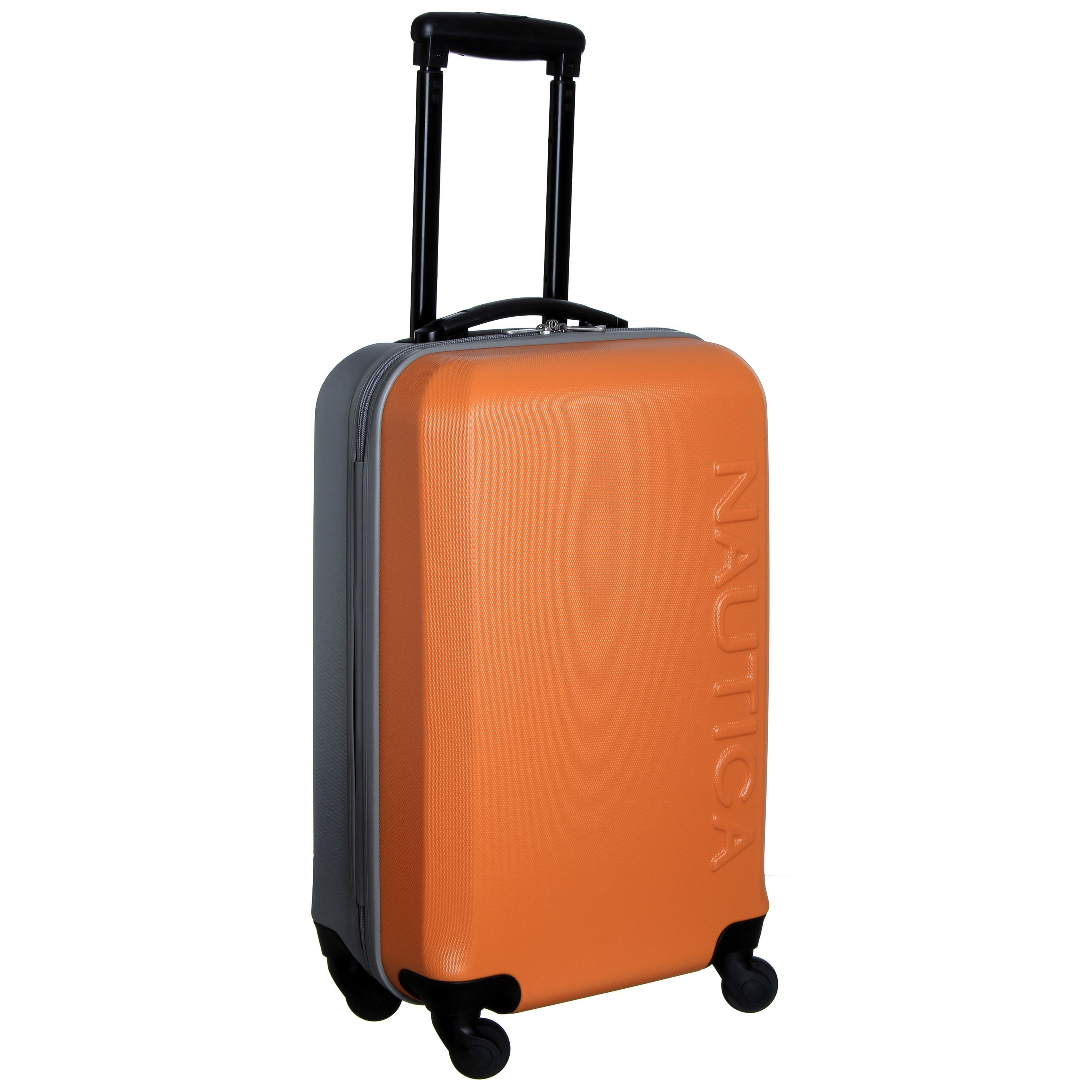 Nautica Ahoy 21-inch Hardside Spinner Upright Suitcase | Overstock ...