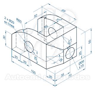 Ejercicios Para Aprender Autocad 3d Dibujos En Autocad Autocad Dibujo Tecnico Ejercicios