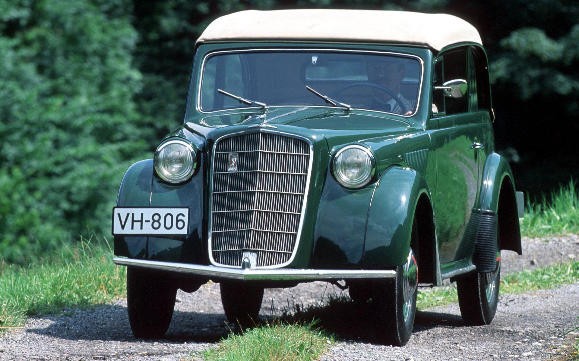 193537 Opel Olympia Cabrio Limousine Opel, Classic cars