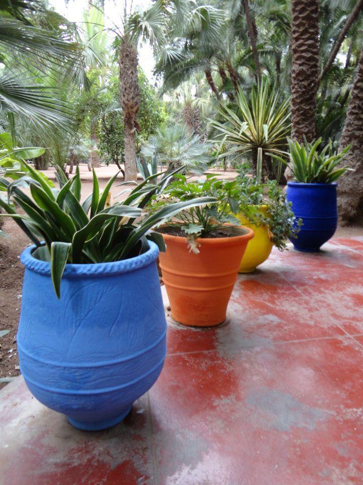 YSL gardens   Moroccan garden, Mexican garden, Balcony plants