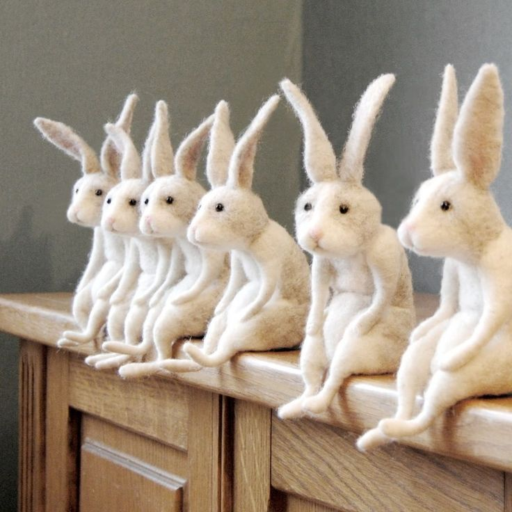Photo of Warten auf Ostern! #needlefeltedrabbit #willane #easterbunny #rabbitsofinstagram #bunnylove