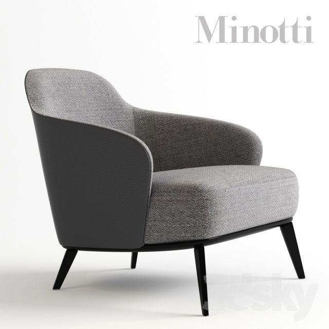 Minotti leslie mobilier int rieur pinterest fauteuil mobilier de salon et chaise fauteuil - Meubles minotti ...