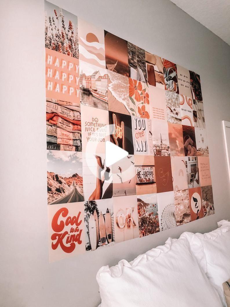 Kit de collage mural rêveur DIGITAL   Etsy   Idée déco mur chambre ...
