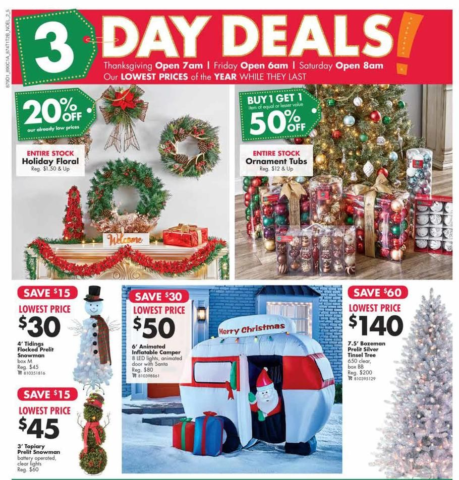 Big Lots Black Friday Ad Scan, Deals and Sales 2019