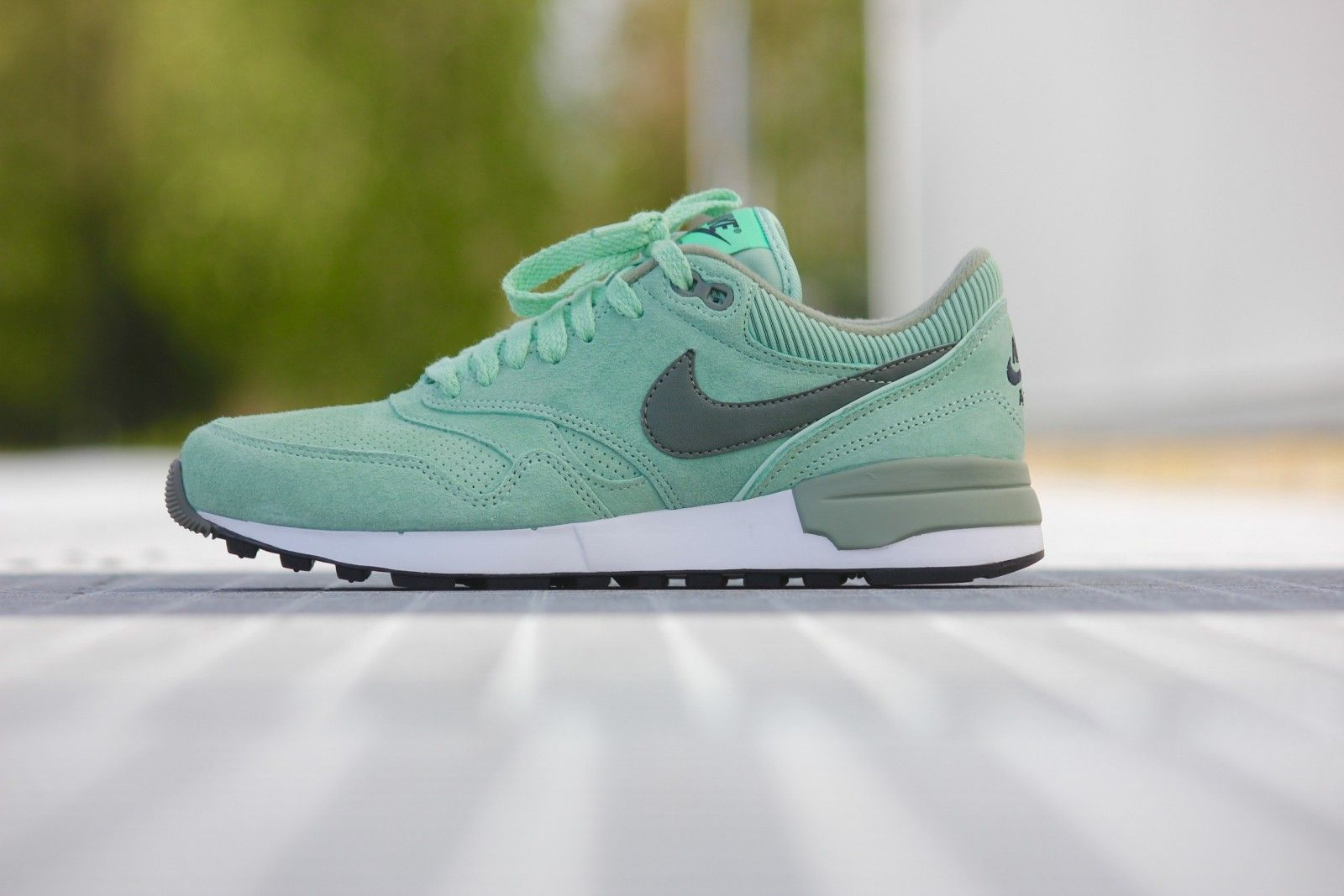 1f0356682a02 Nike Air Odyssey LTR Enamel Green  River Rock-Jade - 684773-301 ...