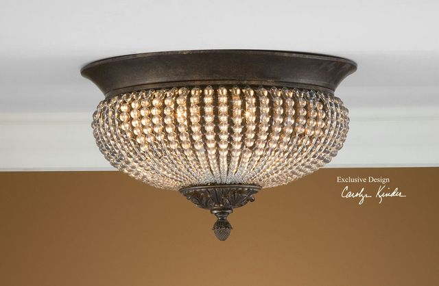 Cristal De Lisbon Flush Mount traditional bathroom lighting and ...