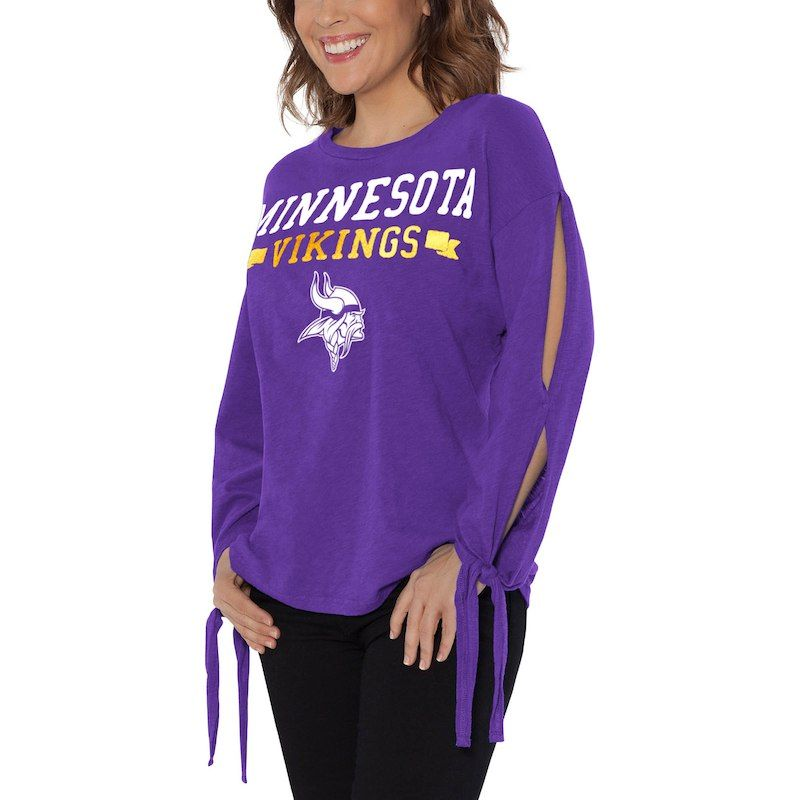 cf9b2ac0 Minnesota Vikings Touch by Alyssa Milano Women's On The Fly Long ...