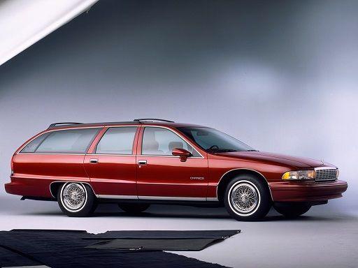 Chevrolet Caprice Station Wagon 1991 1996 Chevrolet Caprice