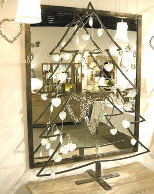 sapin noël métal - jardin d\'ulysse | Atelier | Pinterest | Sapin ...