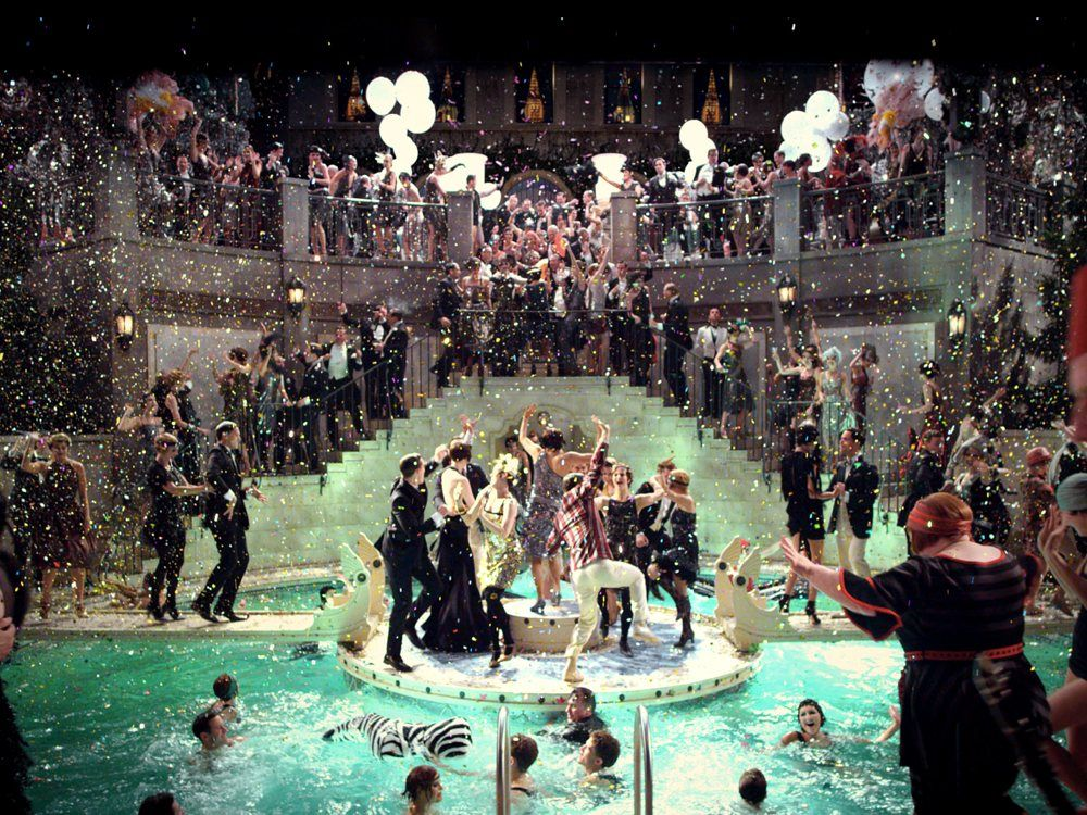 Great Gatsby Pool Party