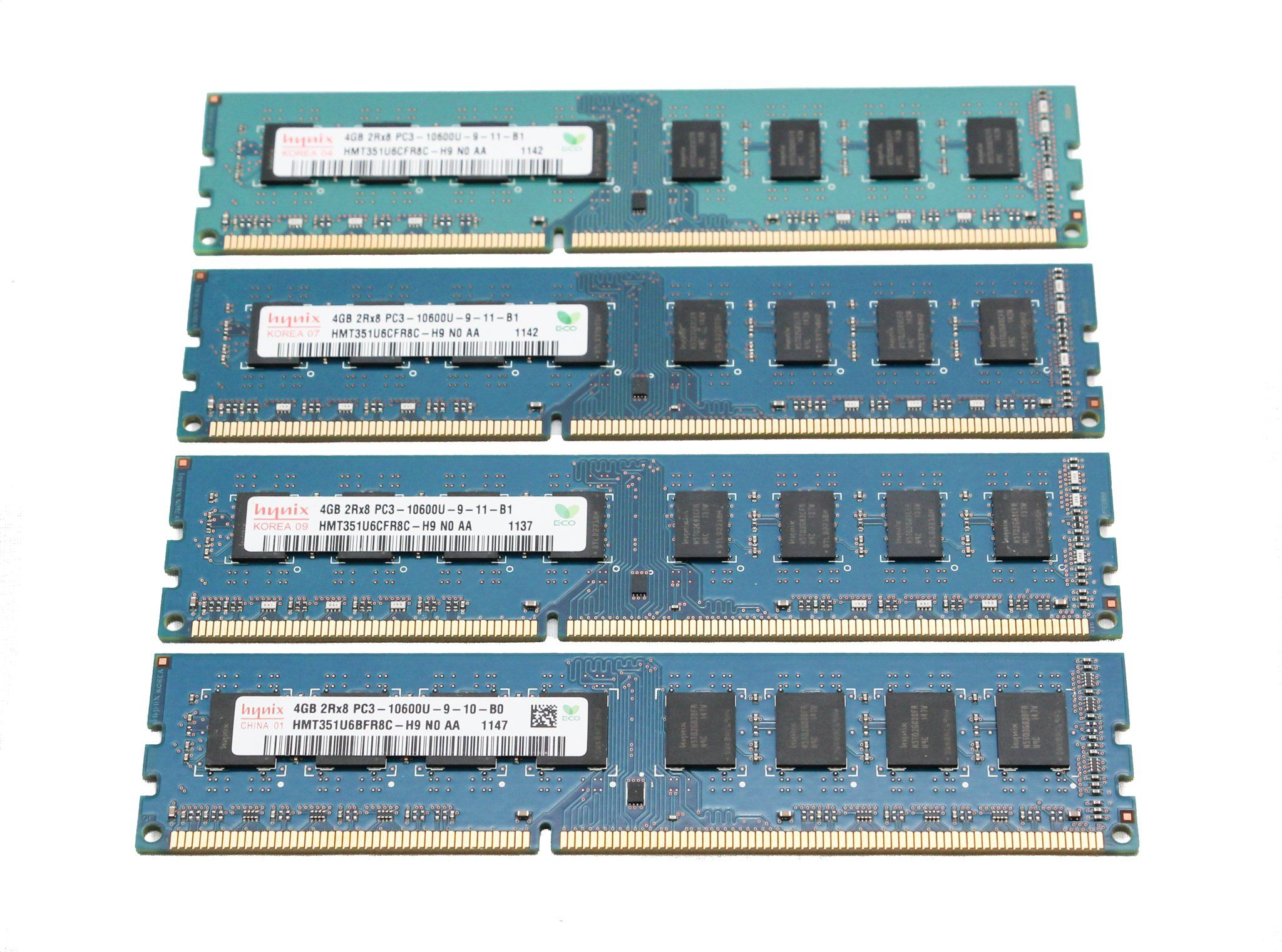 Hynix Hmt351u6cfr8c H9 4gb 2rx8 Pc3 10600u 240 Pin Ddr3 Sdram Ram 2gb Pc 8500u Desktop Memory