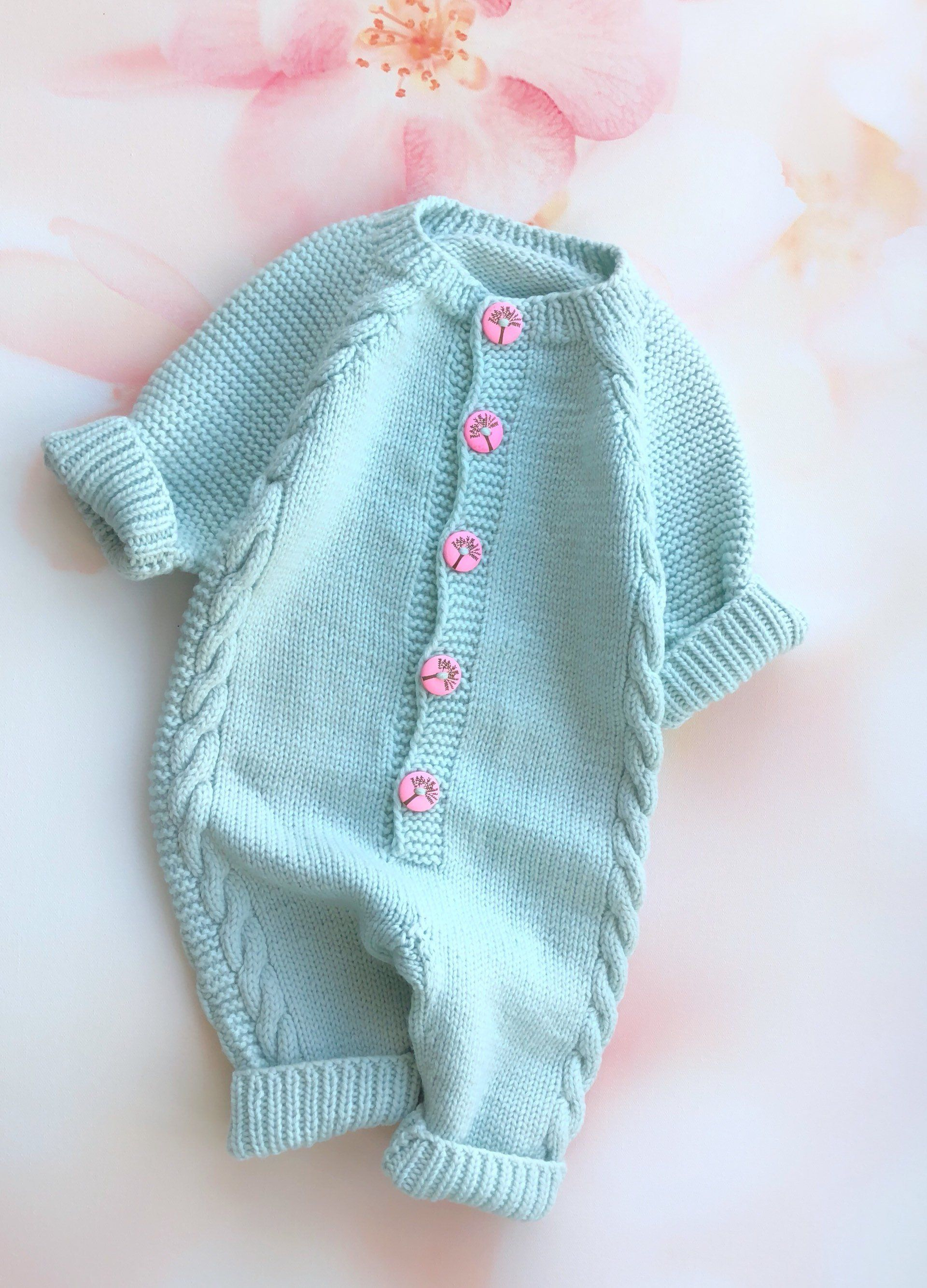 Photo of Wool knit onesie Baby girl bodysuit Knit romper girl Baby knit jumpsuit Baby girl newborn clothes Baby girl outfit Baby romper with buttons