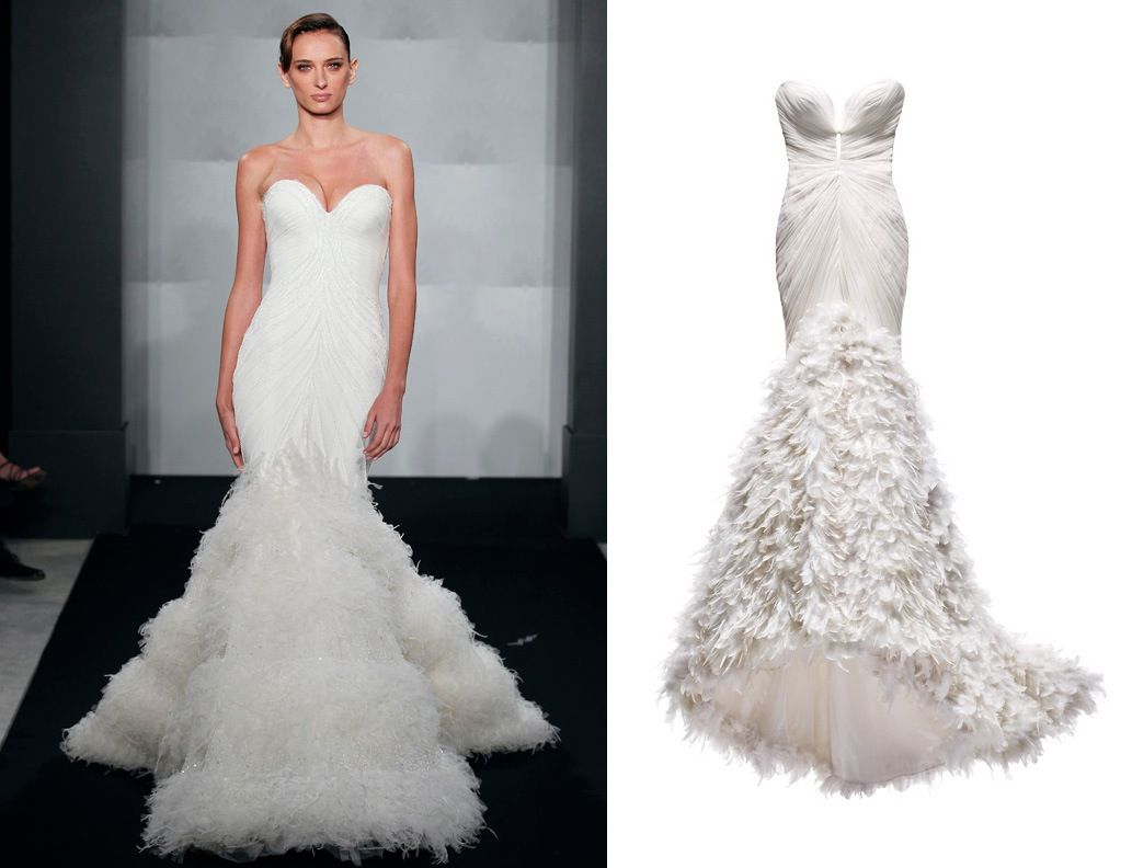 mark zunino wedding peach dress | Wedding-dress-by-mark-zunino-for ...