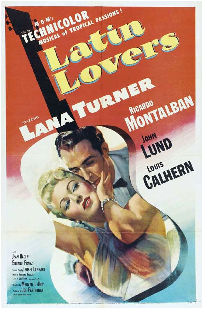 Latin Lovers (1953) starring Lana Turner & Ricardo Montalban. An adorable romantic comedy.