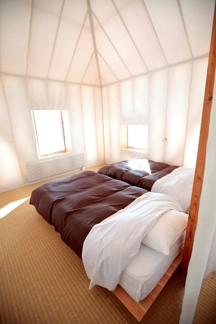 Translucent Tent Like Structure: Même – Experimental House / Kengo Kuma & Associates
