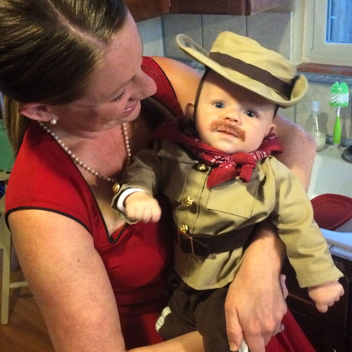 Baby's First Halloween Theodore looked adorable in his