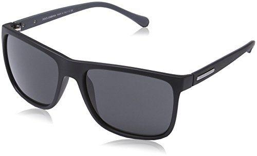 6de08cebb5 Dolce   Gabbana Herren DG 6086 OverMolded Rubber Wayfarer Sonnenbrille