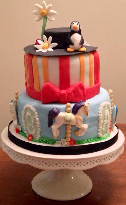 Mary Poppins Cake 21st Birthday Cakes Cake Disney Themed Cakes