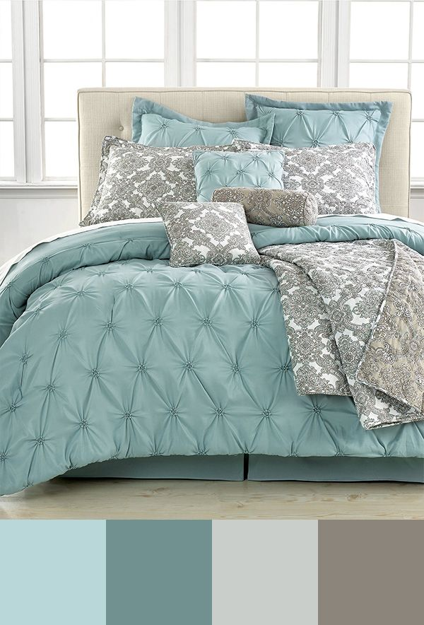 light blue comforter king 10 Perfect Bedroom Interior Design Color Schemes | Design Build  light blue comforter king