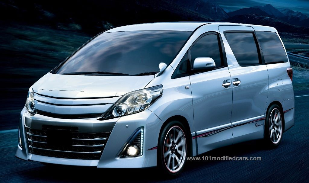 Modified Toyota Alphard Gs 2nd Generation Anh20w With Images