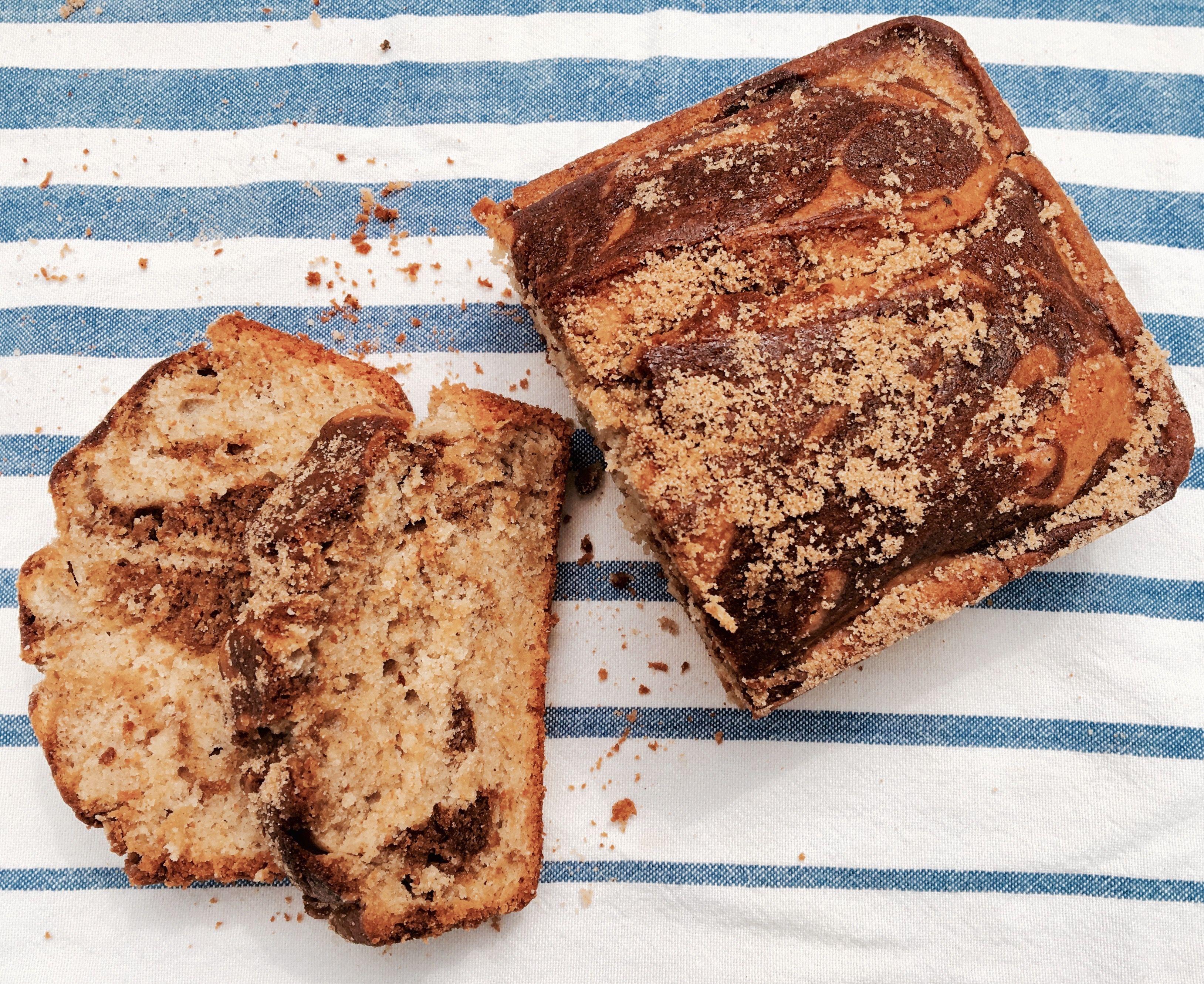 Cinnamon swirl breakfast bread gluten free island