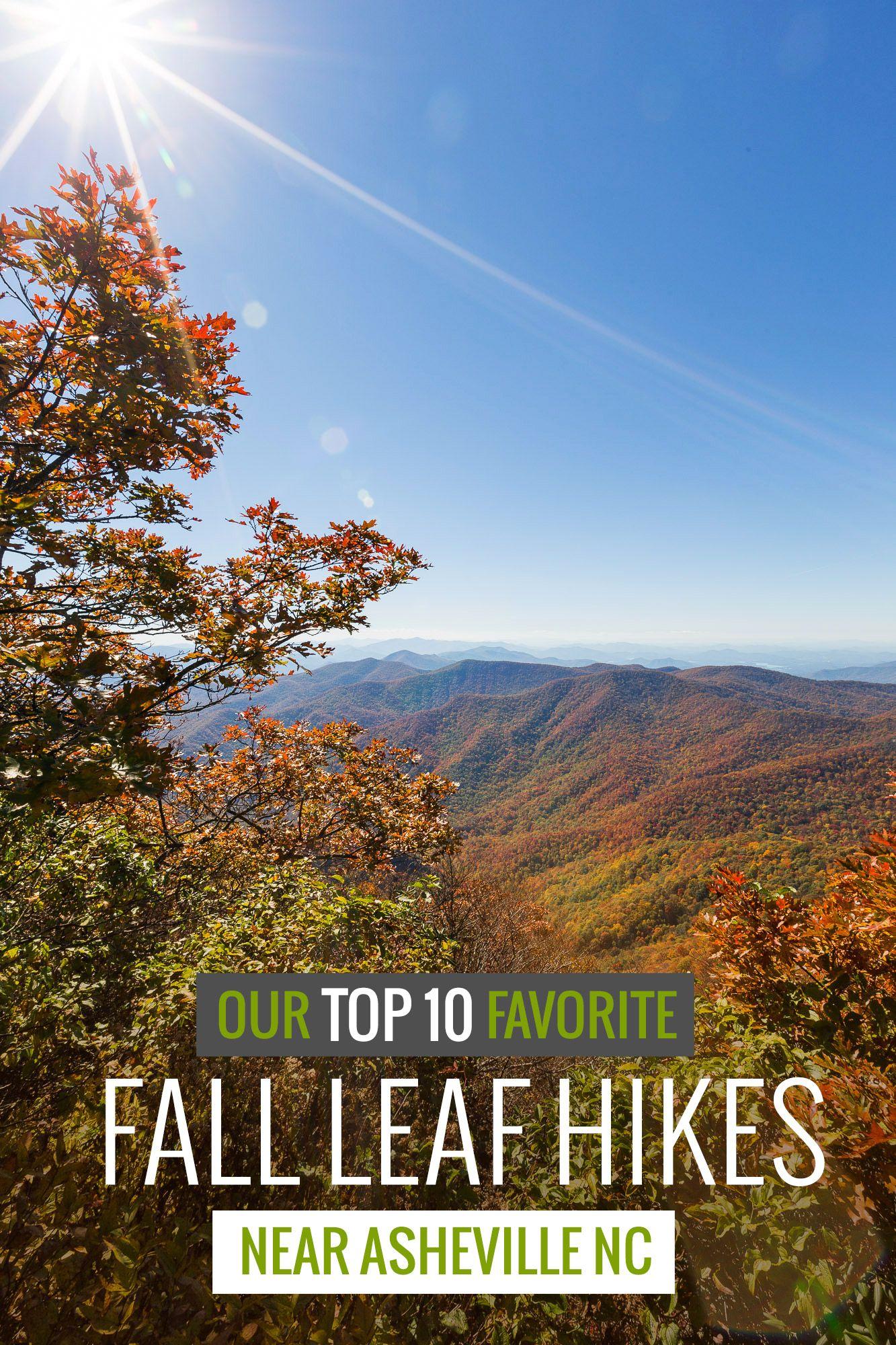 top fall foliage hikes