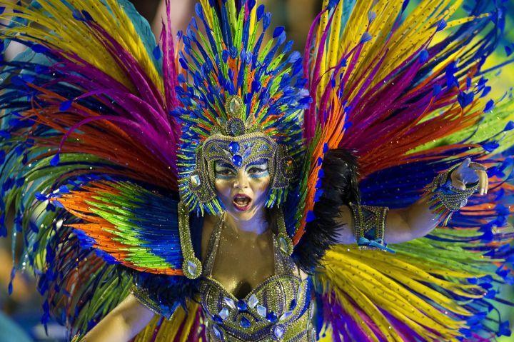EN IMAGES. Carnaval de Rio le bouquet final Carnival