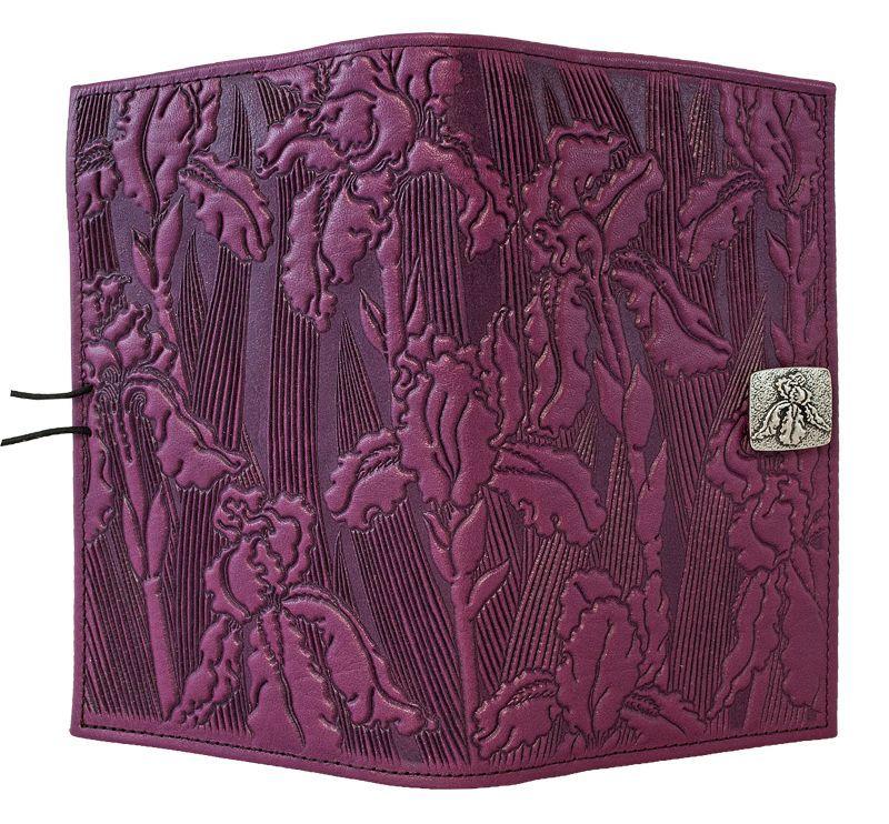 Leather Women's Wallet | Iris in Orchid