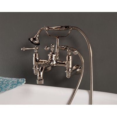 Strom Plumbing By Sign Of The Crab Double Handle Wall Mount