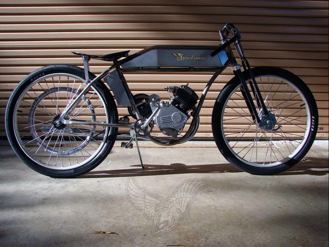 motorized bicycles | sportsman flyer company - bikerMetric