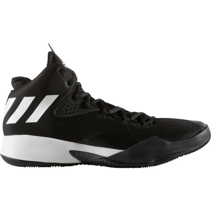 Mens Adidas Dual Threat Mens Basketball Shoes Best Deals Size 43