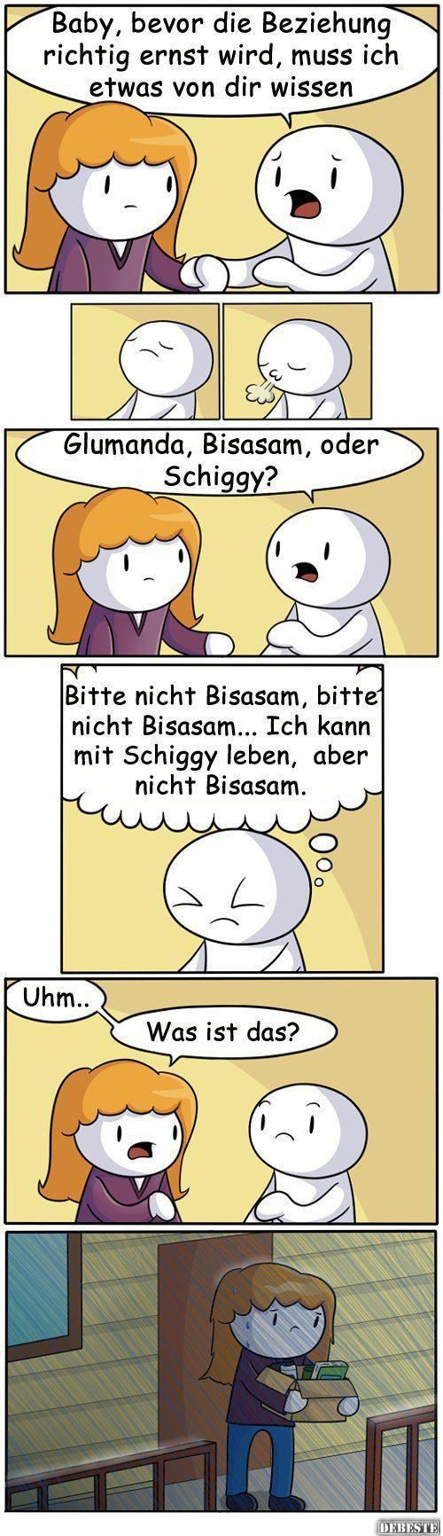 Glumanda, Bisasam oder Schiggy? | Lustige Bilder, Sprüche, Witze, echt lustig #comicsandcartoons