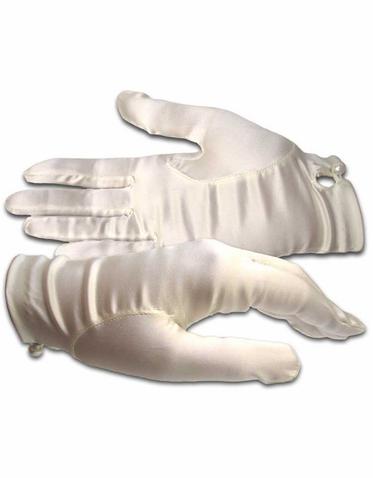 Shortie Silk Bridal and Evening Gloves