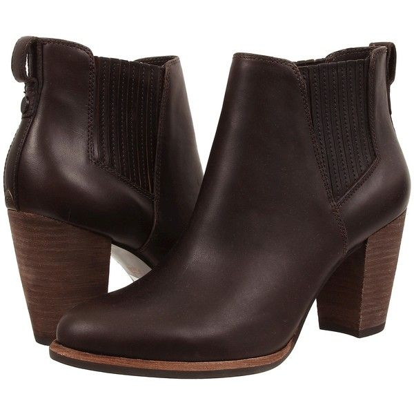 Womens Boots UGG Poppy Lodge Leather