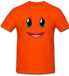 Orange Pokemon Pocket monster Charmander Shirt on Etsy, $16.00