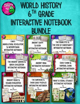 Photo of Ancient / World History Interactive Notebook Social Studies BUNDLE