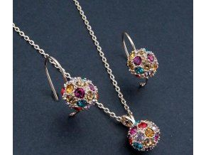 Set SWI crystal Ball Colourful Gold