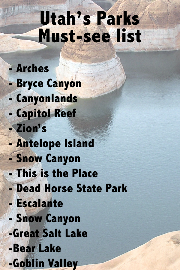 Top Bucket List Destinations For Utah Best National And State