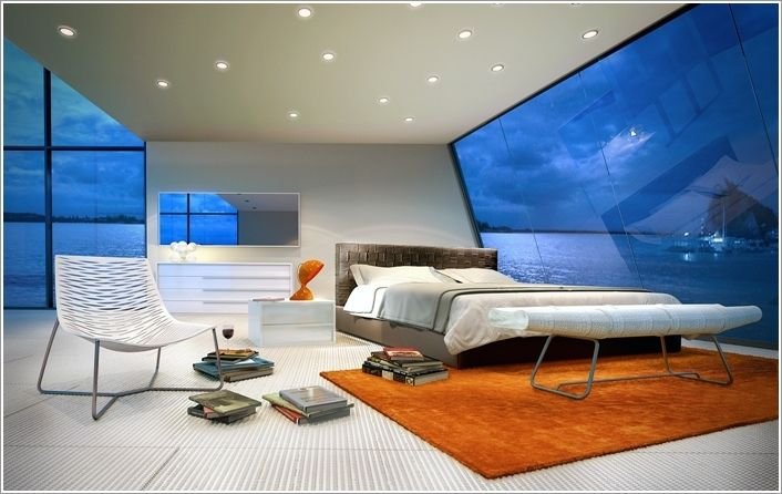 10 Futuristic Bedrooms That Will Make You Say Wow | Futuristic ...