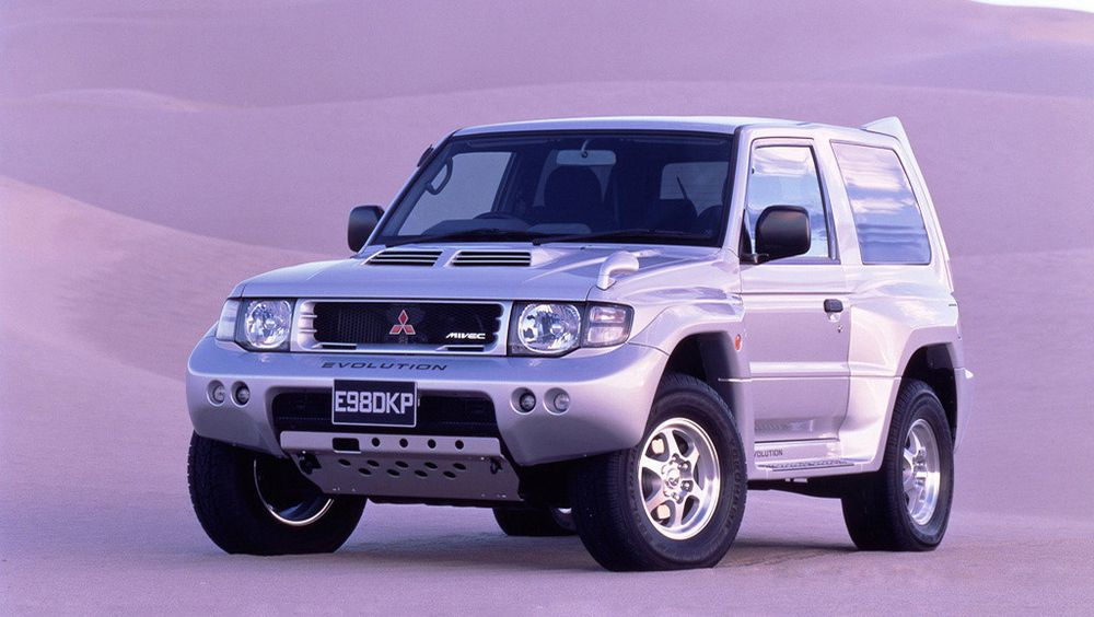 Mitsubishi Pajero Evolution For Sale at £5,000 การเพาะกาย