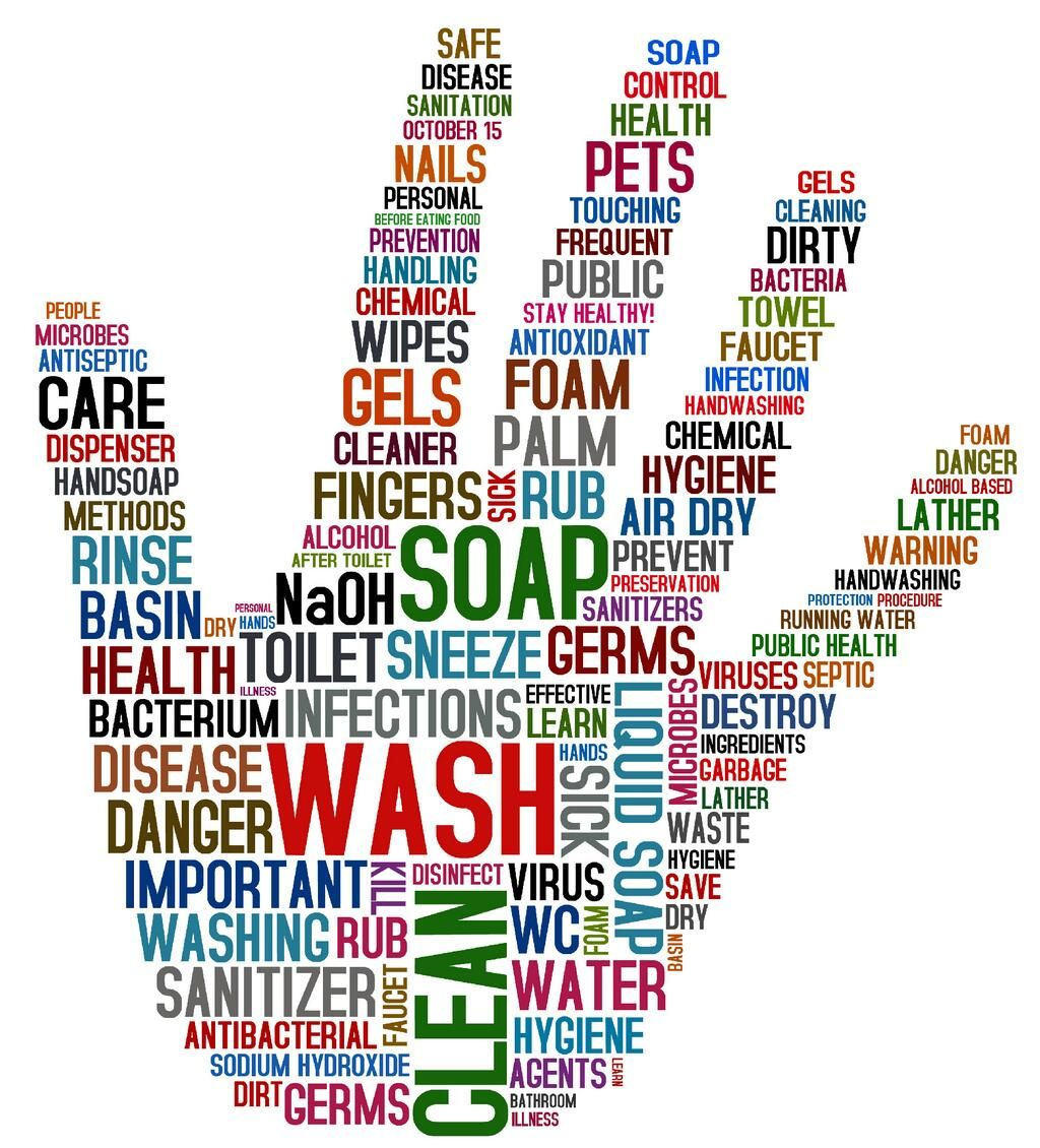 Orange County Health On Hand Hygiene Hand Washing Poster