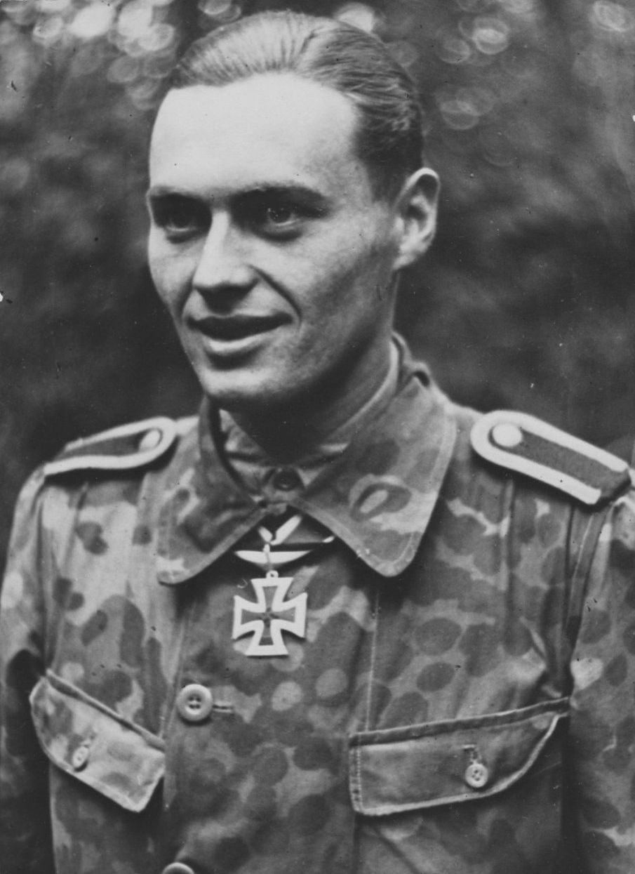 Портрет унтершарфюрера дивизии СС 171Лейбштандарт Адольф