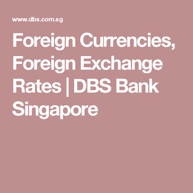 dbs visa forex rate