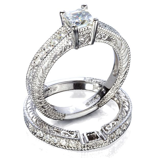 Antique Engagement Ring Sets 54 Engagement Rings Pinterest